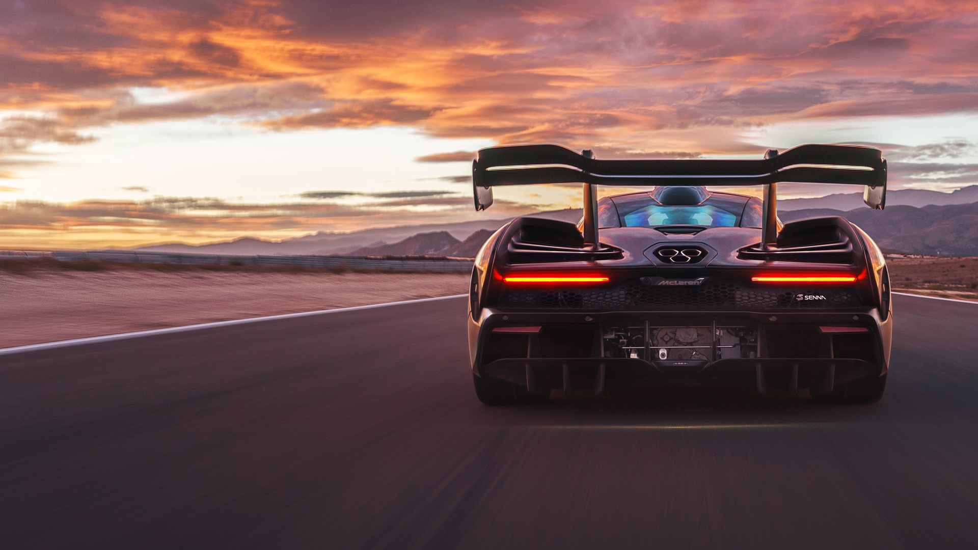 McLaren Senna German About
