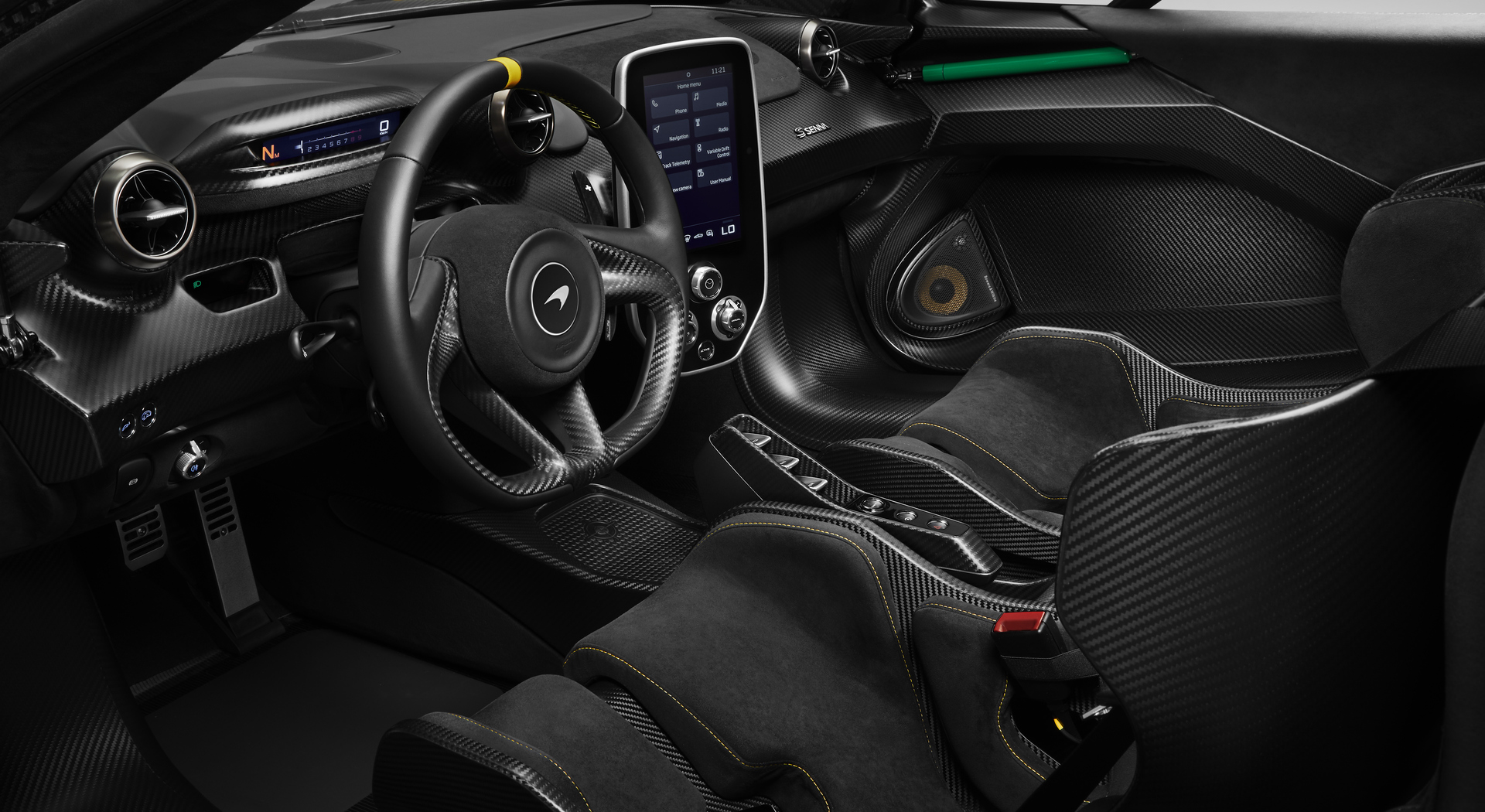 Carbon Senna Interior