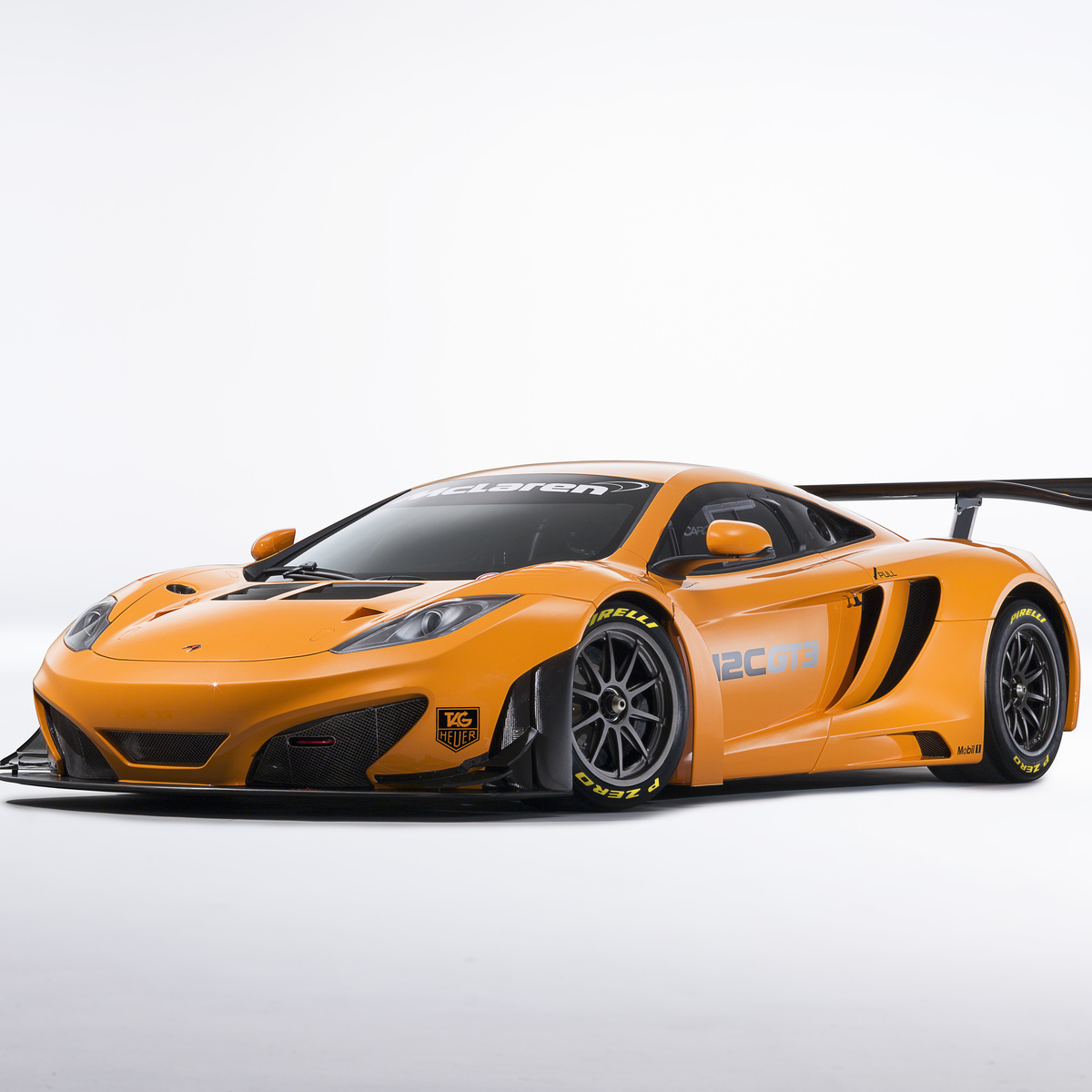 McLaren Customer Racing Models