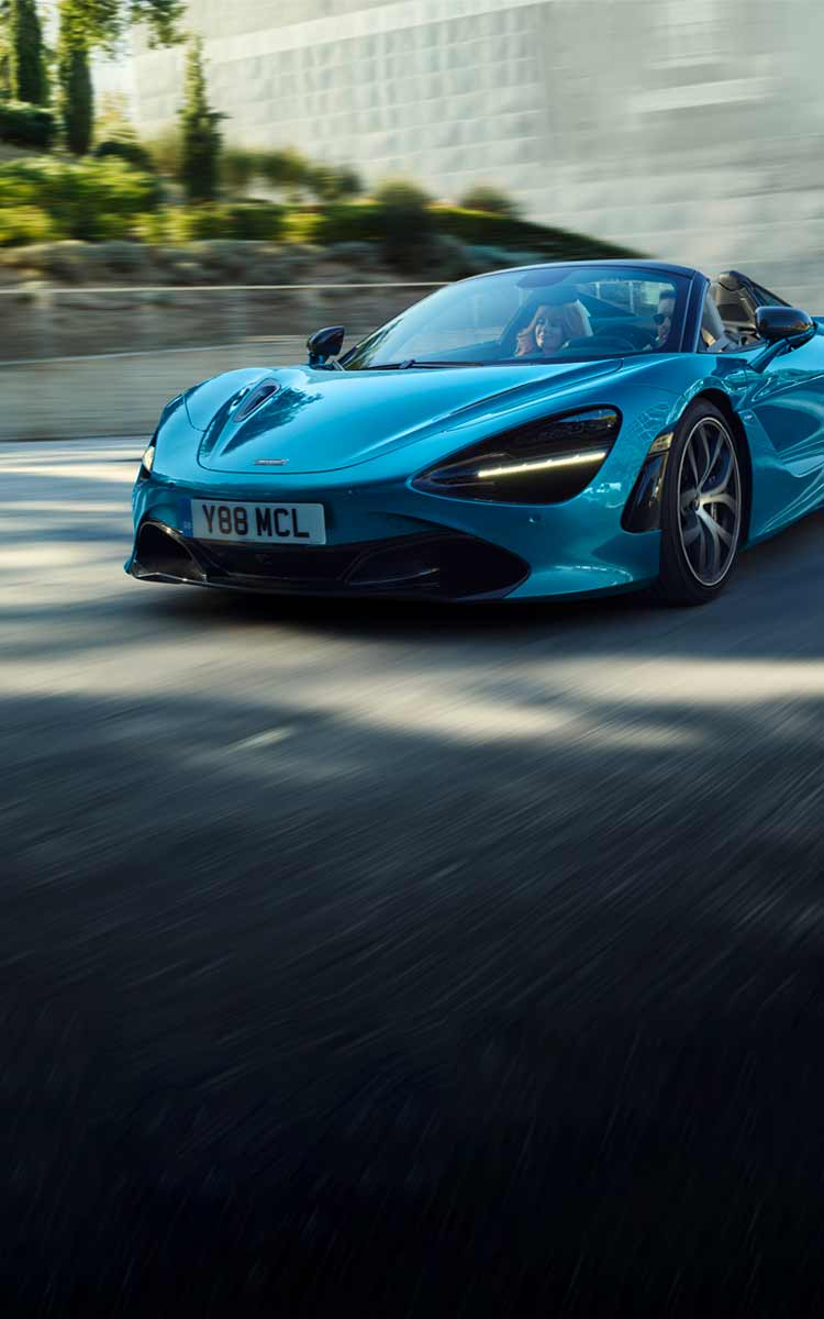 720s Spider Home Page German