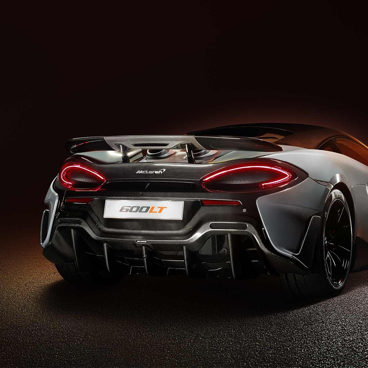 McLaren 600LT - Aerodynamics | McLaren Automotive