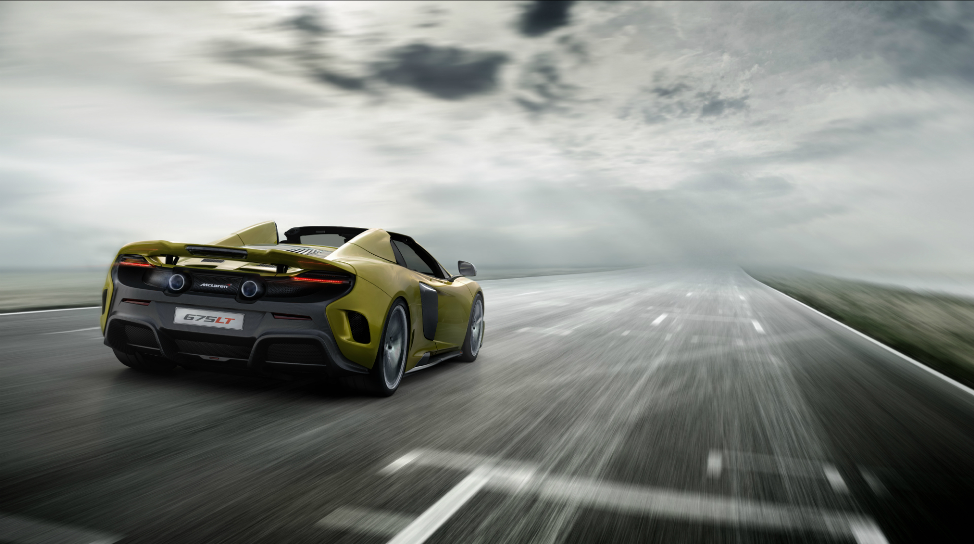 675LT Spider Rear Dynamic