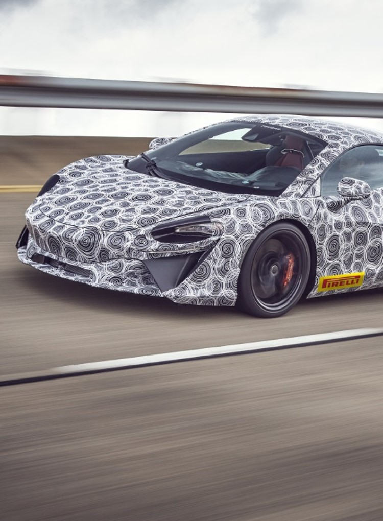 New McLaren Supercar
