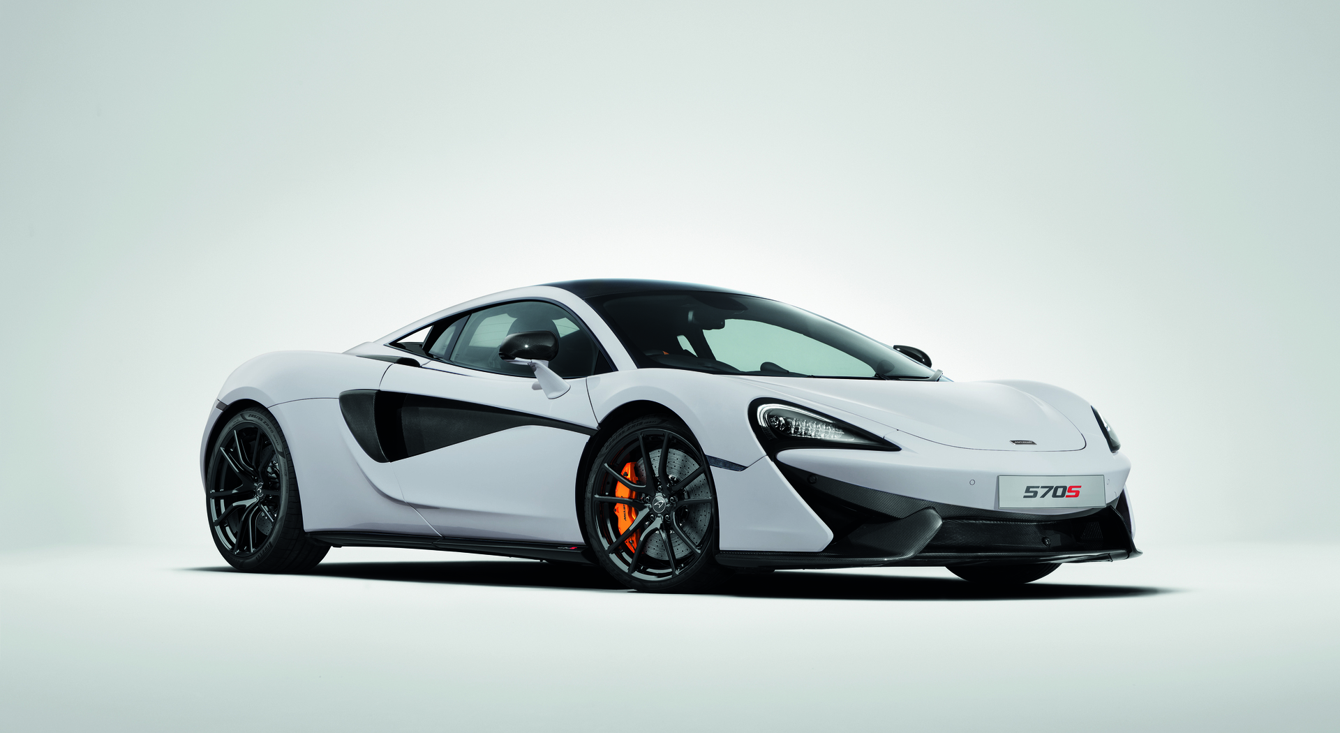 McLaren Gloss Black Wheels